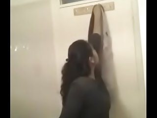 Indian bathroom selfie