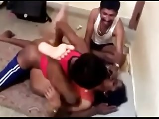 indian wife gangbang with servant
