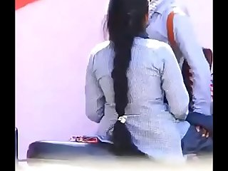Tamil  desi College Top student girl fuck with Rowdy guy public Reup2