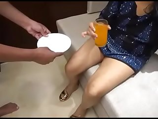 Indian Bhabhi Enjoy With Own Servant