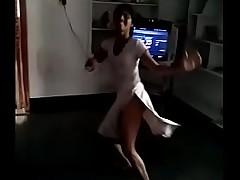 Indian teen catholic dance in nude