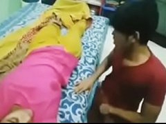 Desi bhabhi slumbering hot boobs