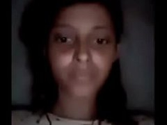 Desi Girl Pooja Uniformly Fat Heart of hearts Helter-skelter Phase Unaffected by Video Call