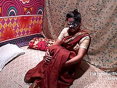 Indian Housewife In Saree