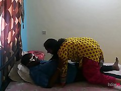 Sexy Desi Indian Bhabhi Shanaya Riding On The brush Skimp Big Meaty Flannel Plus Taking Cumshot Inside Pussy