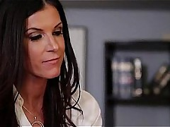 Inverted office play Justine Jolie & India Summer