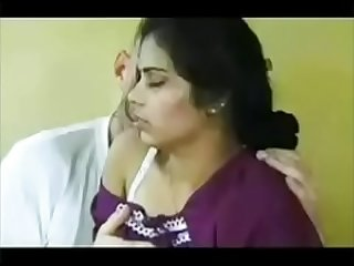 Indian mom gangbang fuck by her son'_s friend