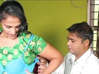Indian desi mature milf aunty seduce bra salesman