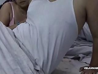 Indian Bhabhi Filming POV Style Indian Blowjob Porn