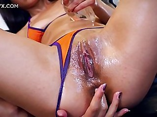 Cute indian chick loves anal sex and can wait getting her ass on a hard cock of her french sex coach Jean-Marie Corda