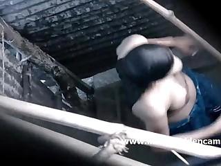 big tits indian girl shower - DesiSex24.com