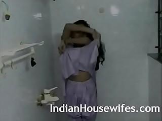 Hot Indian Bhabhi Taking Shower With Husband