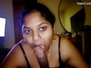 Indian bhabhi sucking cock. Cute desi slut