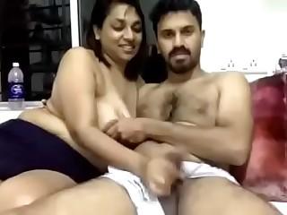 Indian Couple Cam Show - Part 1