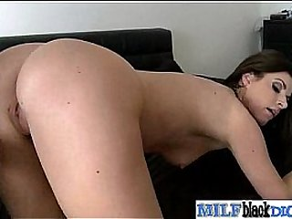 Interracial Hardcore Sex Between Big Black Dick Stud And Mature Lady (india summer) vid-17