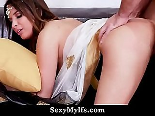 Indian Milf Gets Fucked By White Dick at SexyMylfs.com