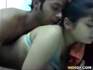 Indian girlfirend riding a dick