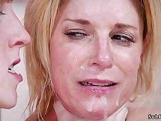 Bf Tommy Pistol ties and zappers his girlfriend stepmom India Summer then together with gf Cadence Lux has threesome bdsm sex and facial cumsho