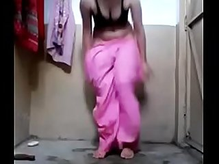 Indian babe with small tits