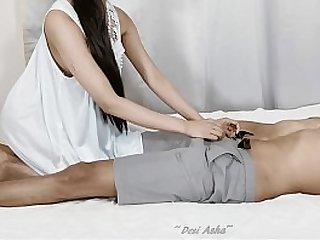 Desi girl in a silk night dress fuck.